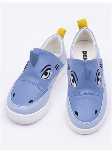 Denokids Köpekbalığı Erkek Sneakers Mavi